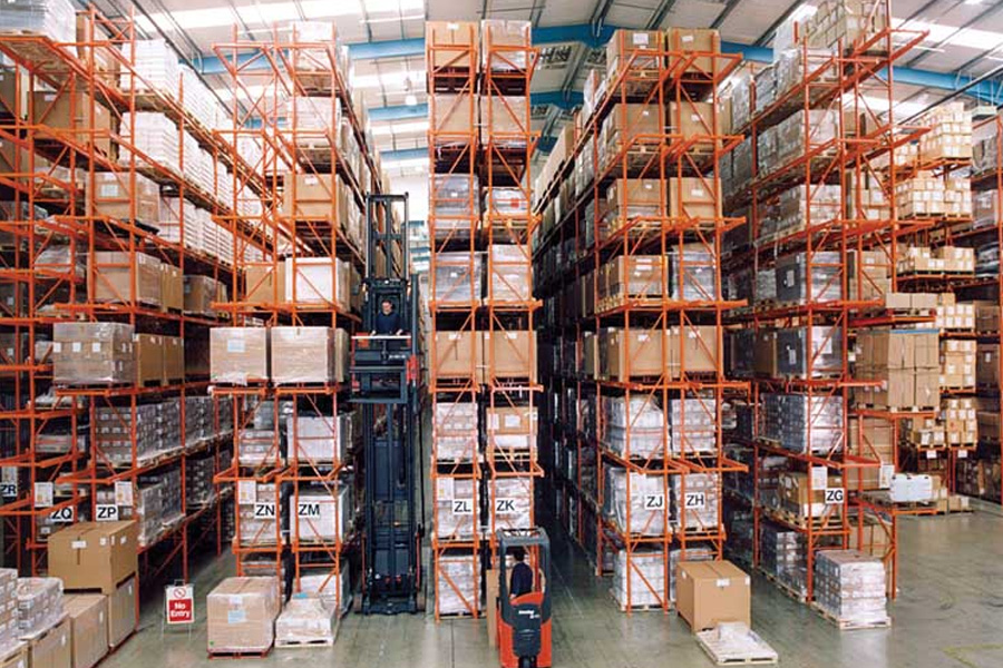 Very Narrow Aisle Racking Systems