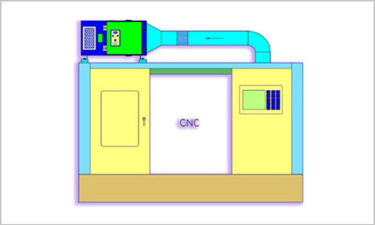 OIL MIST COLLECTOR FOR CNC