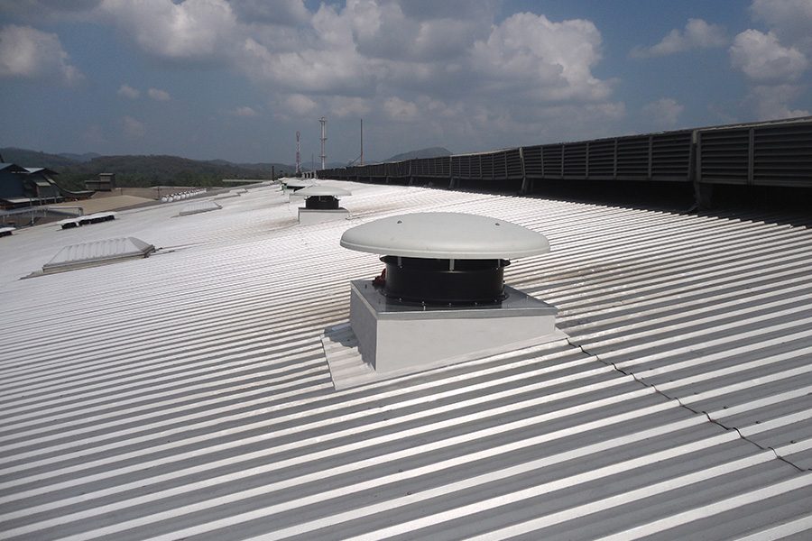 ENERGY EFFICIENT ROOF MOUNTED EXHAUST FANS