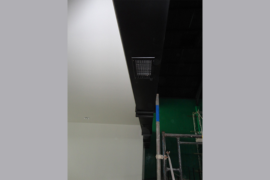 DUCTED VENTILATION SYSTEMS WITH MATCHING AESTHETIC APPEARANCE